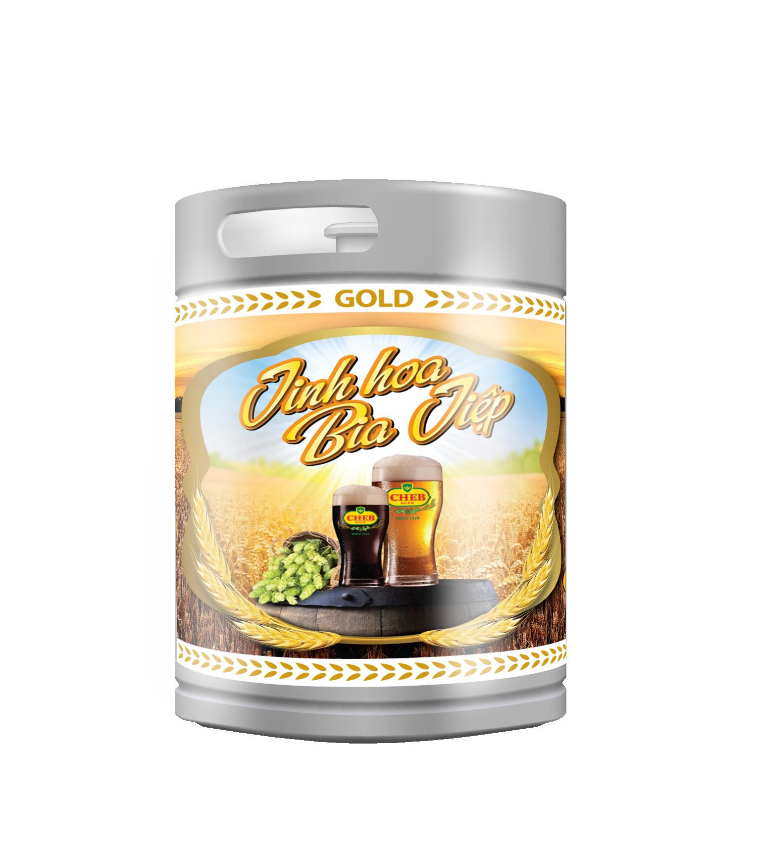 Draft beer – Golden beer –  keg 2L
